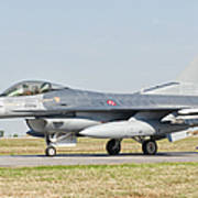 An F-16c Block 50 Of The Turkish Air Poster