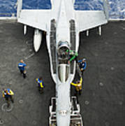 An Fa-18c Hornet Aircraft Poster