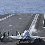 An Fa-18d Hornet Launches Poster