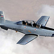 An Iraqi Air Force T-6 Texan Trainer Poster