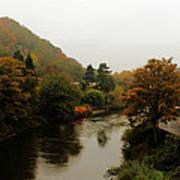 An Ironbridge Autumn Poster