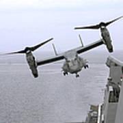 An Mv-22b Osprey Takes Poster