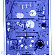 An X-ray Of A Pinball Machine Poster