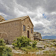 Ancient Church On Hills Of Anatolia Poster