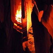 Ancient Old Grotte Magdaleine Poster