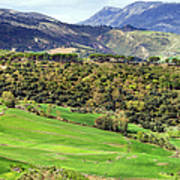 Andalusia Landscape Poster