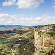 Andalusia Landscape In Spain Poster