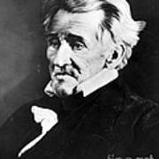 Andrew Jackson, 7th American President Poster by Omikron