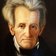 Andrew Jackson, 7th American President Poster