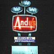 Andy's Drive-in Poster