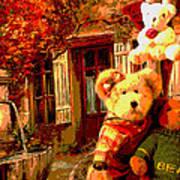 Angel Bear Poster by David Alvarez
