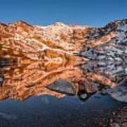 Angel Lake Alpenglow Poster