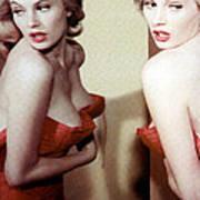 Anita Ekberg, Circa Late. 1950s Poster by Everett