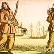 Anne Bonny And Mary Read, 18th Century Poster
