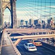 Another Day On Brooklyn Bridge Poster