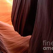 Antelope Canyon Living Rock Poster