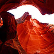 Antelope Canyon Skylight Poster