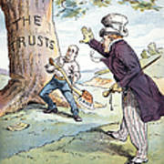Anti-trust Cartoon, 1904 Poster