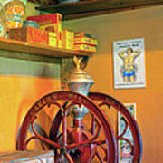 Antique Coffee Mill Poster