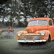 Antique Ford Car 7 Poster
