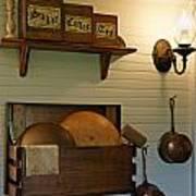 Antique Kitchen Wares Poster by Carmen Del Valle