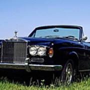 Antique Rolls Royce Poster