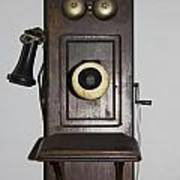 Antique Telephone Poster