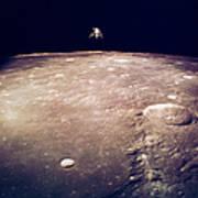 Apollo 12 Lunar Lander Poster