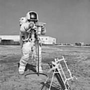 Apollo 13 Astronaut Walks Poster