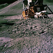 Apollo 15 Lunar Module Poster
