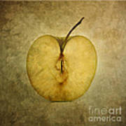 Apple Textured Poster