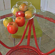 Apples In The Kitchen Poster