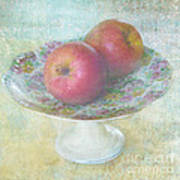 Apples Still Life Print Poster