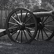 Appomattox Cannon Poster by Teresa Mucha