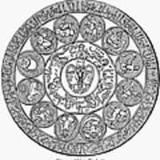 Arabic Zodiac Poster