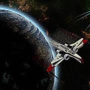 10117 Arc-170 Starfighter Poster