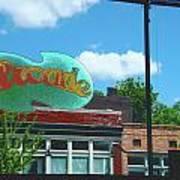 Arcade Restaurant Memphis Poster