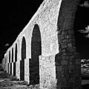 Arches Of The Kamares Aqueduct Larnaca Republic Of Cyprus Europe Poster