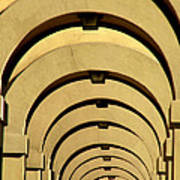 Archways In Florence Poster
