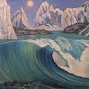 Arctic Ocean Glaciers Poster
