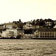 Arendal Cityscape Poster