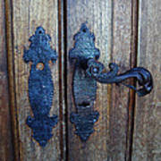 Argentinian Door Decor 1 Poster