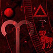 Aries Poster by JP Rhea
