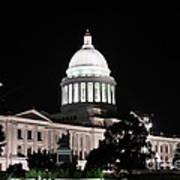 Arkansas State Capital Poster by Joe Finney
