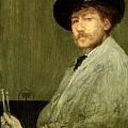 Arrangement In Grey - Portrait Of The Painter Poster by James Abbott McNeill Whistler