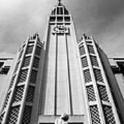Art Deco Church Poster