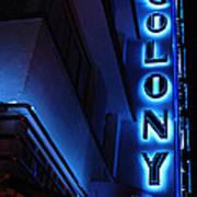 Colony Hotel Art Deco District Miami 2 Poster