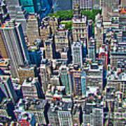 Art Deco New York City Poster