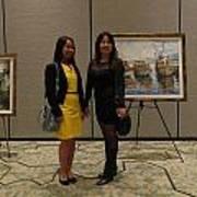 Art Exhibit Paintings Poster