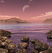 Artists Concept Of Archean Poster